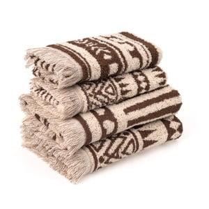 Sada 4 bavlněných ručníků Casa Di Bassi Rabat
