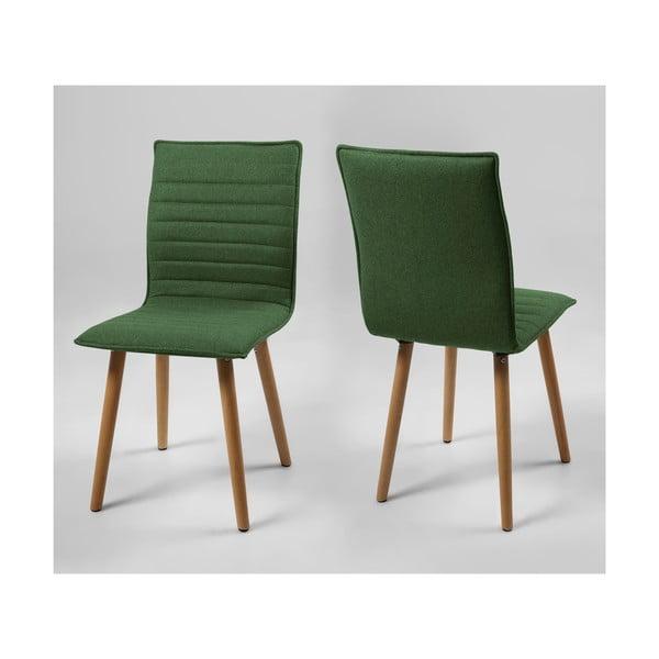 Jídelní židle Karla, zelená