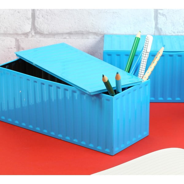 Box Container Blue