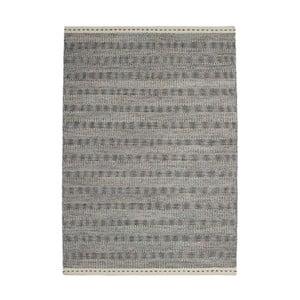 Vlněný koberec Mariposa 80x150 cm, šedý