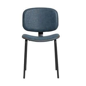 Sada 2 modrých jídelních židlí Marckeric Mali