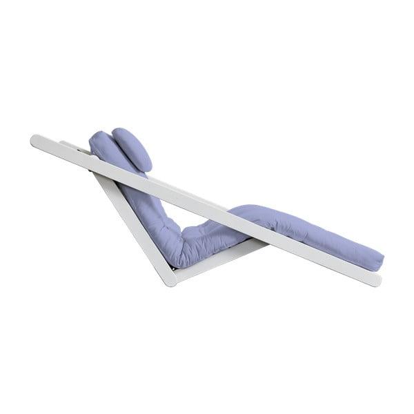 Variabilní lenoška Karup Figo White/Blue Breeze