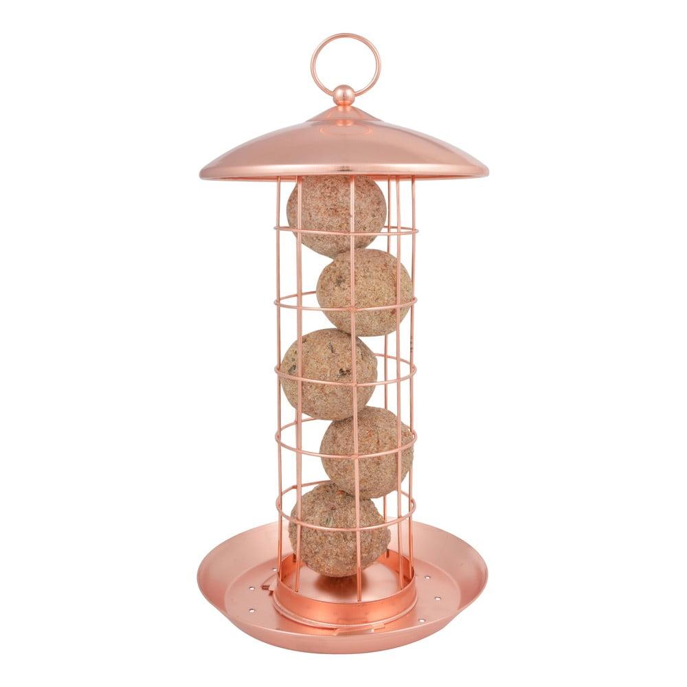 Poměděné závěsné krmítko na lojové koule pro ptactvo Esschert Design