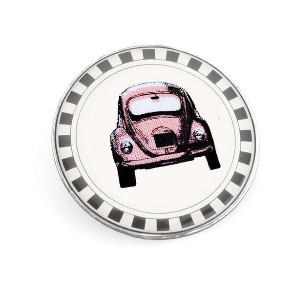 Brož Růžové autíčko od Lucie Markové