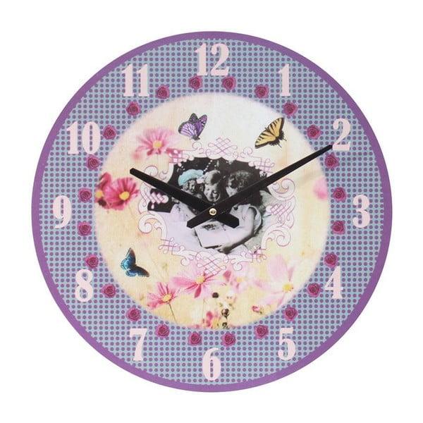 Retro hodiny Little Girls, 39 cm