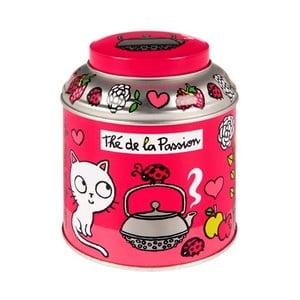 Dóza Tee box T'es in love, pink