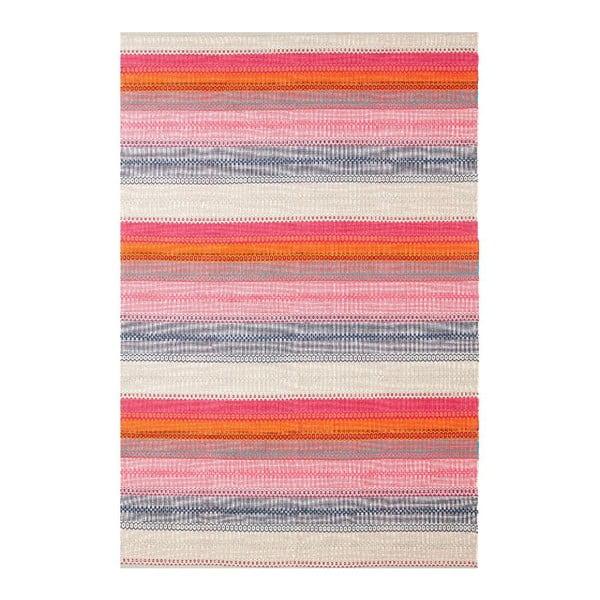 Ručně tkaný bavlněný koberec Linie Design Ida, 80x200cm