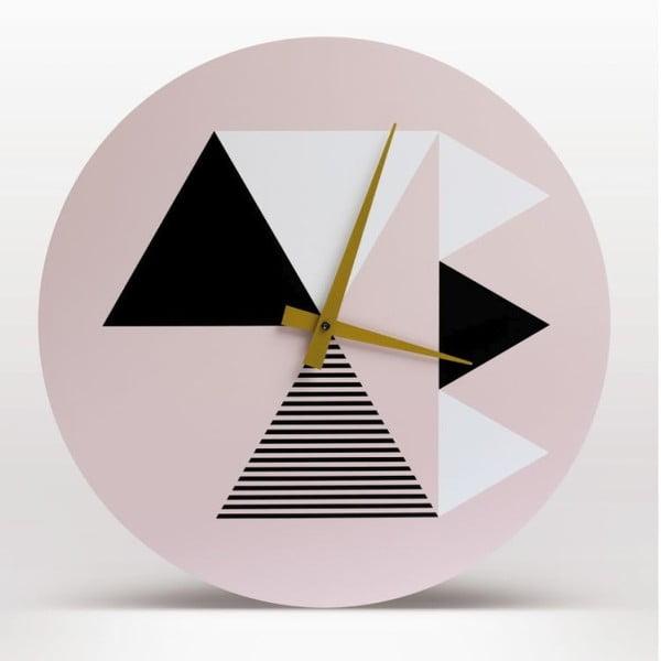 Nástěnné hodiny Peaks, 40 cm