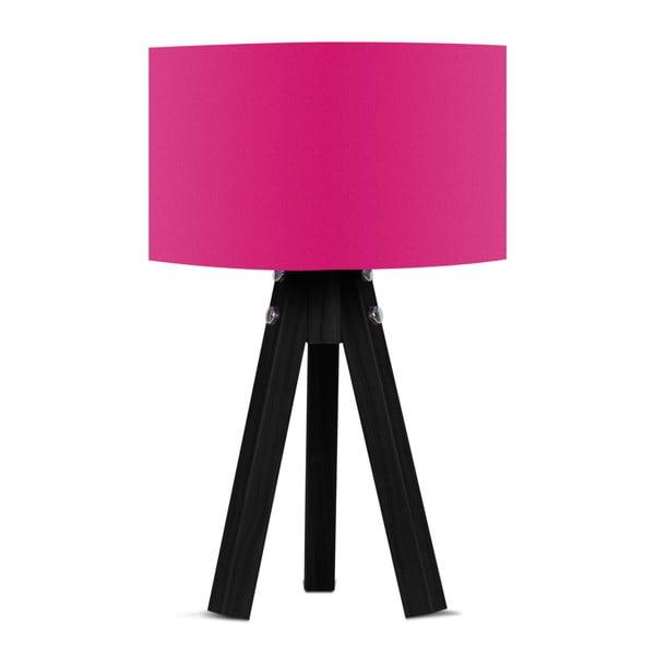 Stolní lampa s růžovým stínítkem Kate Louise Blackie