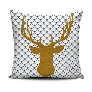 Pernă cu umplutură Christmas Deer 4, 45 x 45 cm