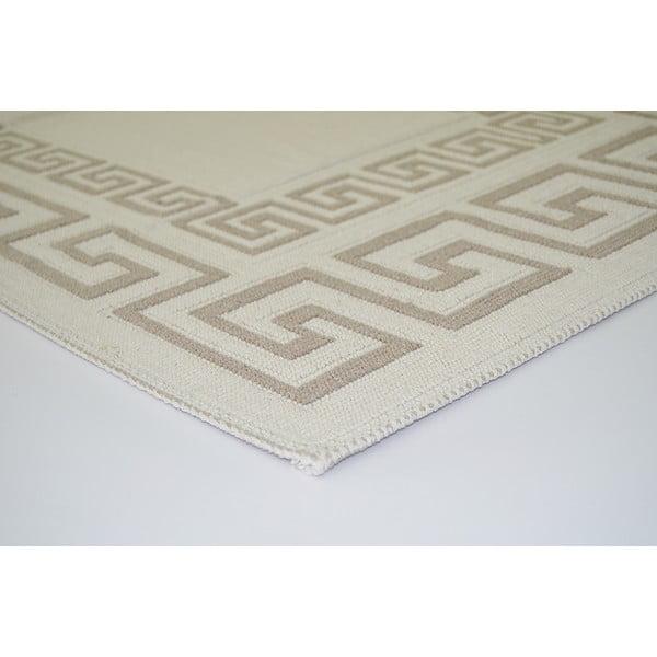 Béžový odolný koberec Vitaus Versace, 100x150cm