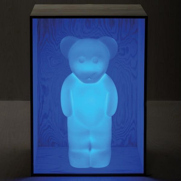Lampa Lumibär, modrá