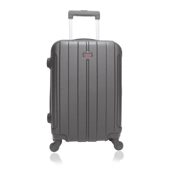 Černý cestovní kufr na kolečkách Hero Fogo, 60 l