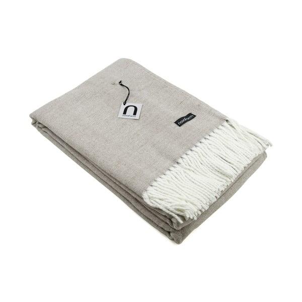 Přehoz Skagen, 130x170 cm, pískový