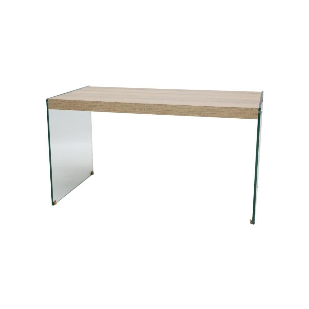 Stůl s bočnicemi z tvrzeného skla Evergreen House Lami
