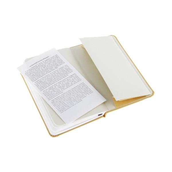 Zápisník Moleskine Orange Hard PKT, nelinkovaný