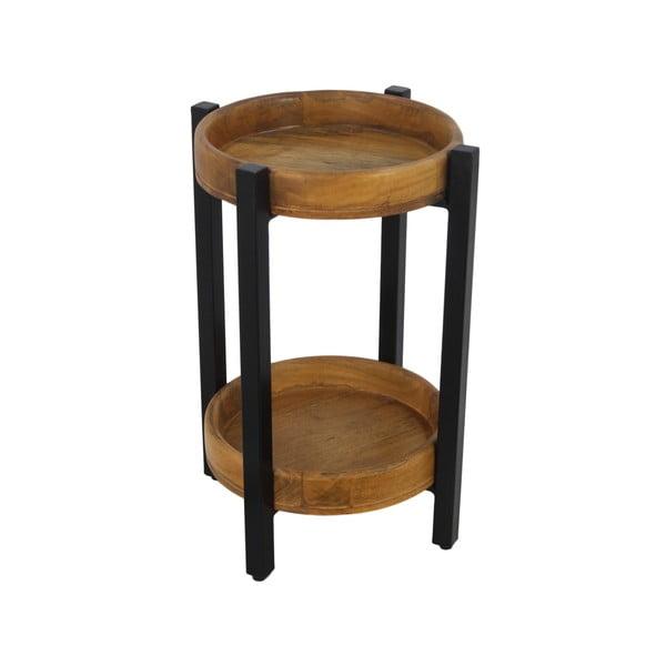 Odkládací stolek z mangového dřeva HSMcollection Ediash, Ø 35 cm