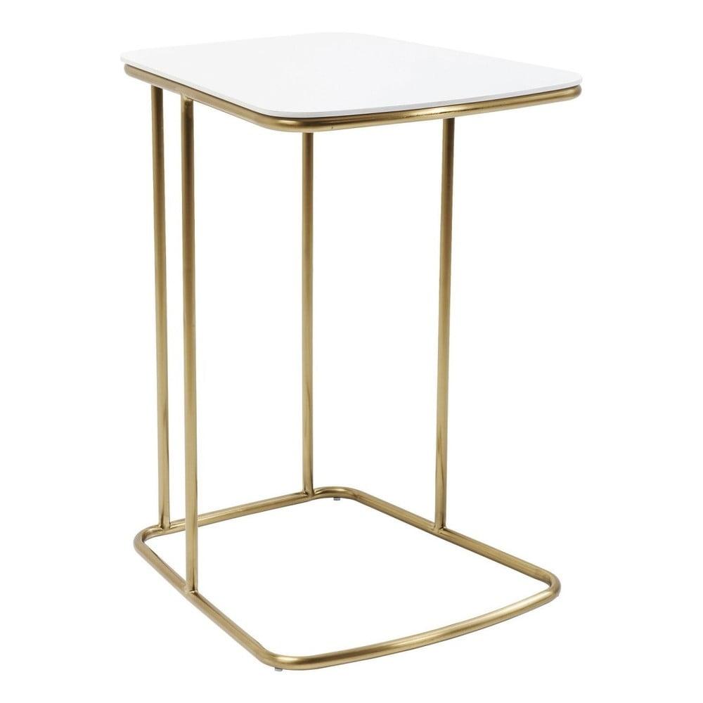Bílý odkládací stolek Kare Design Miami Gardens