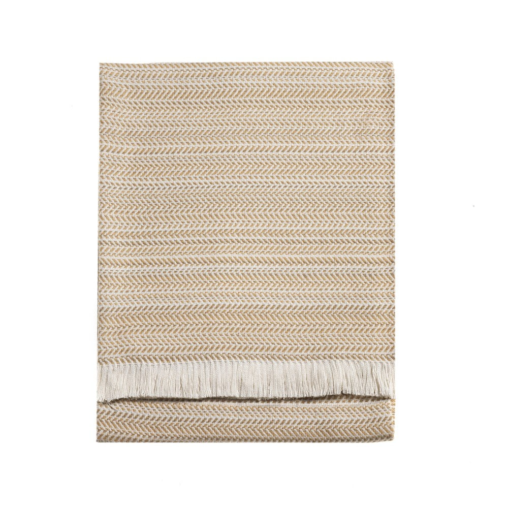 Béžová deka Euromant Toscana, 140 x 180 cm