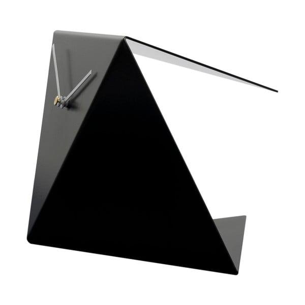 Stolní hodiny Clock 25 cm, černé