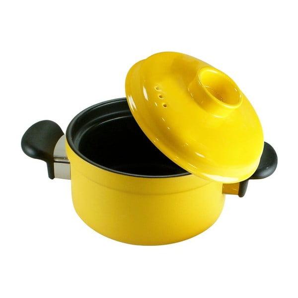 Hrnec s poklicí Yellow Pot