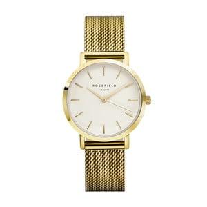 Zlaté dámské hodinky s bílým ciferníkem RosefieldTheTribeca