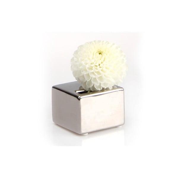 Vázička Cube, silver