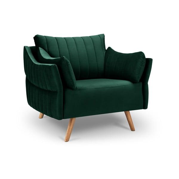Elysée sötétzöld bársony fotel - Interieurs 86