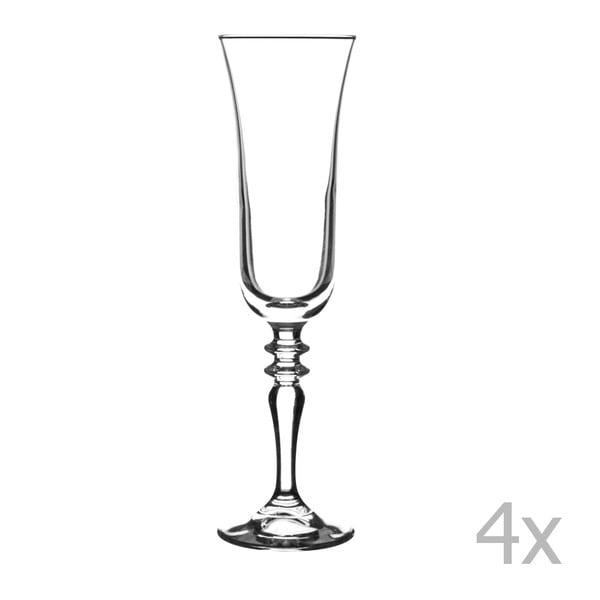 Sada 4 sklenic na víno Avalon, 220 ml
