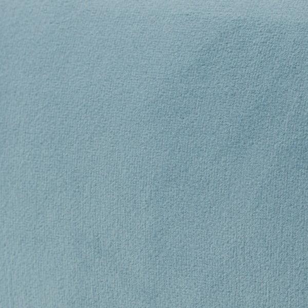 Světle modré křeslo Vivonita Klara