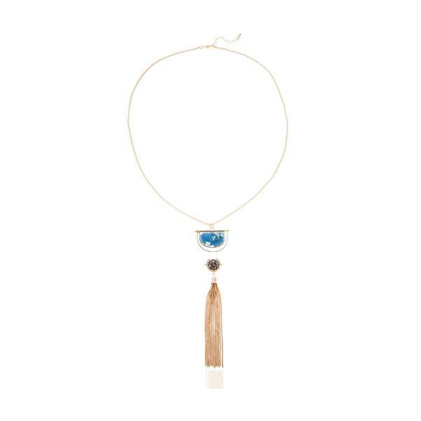 Dámský náhrdelník ve zlaté barvě NOMA Charity