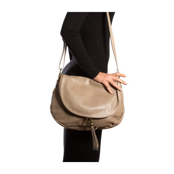 Kožená kabelka Isabella Rhea 2053, kámen