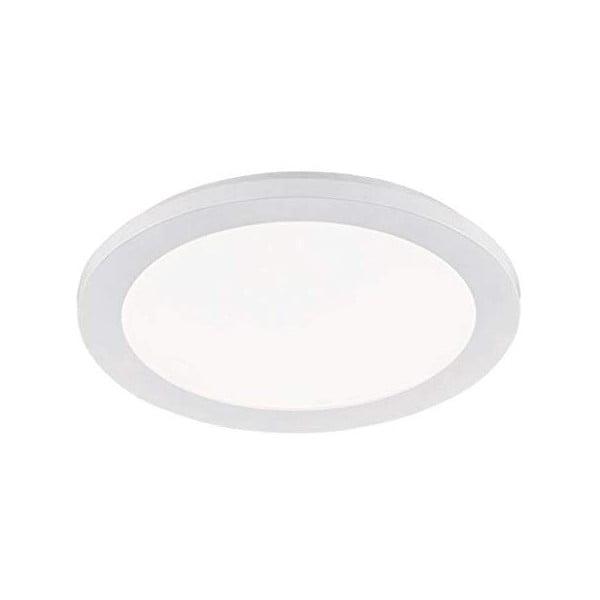 Biała lampa sufitowa LED Trio Camillus, średnica 26 cm
