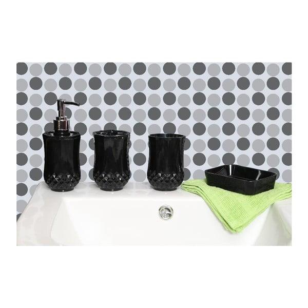 Koupelnový set Cristallo Black
