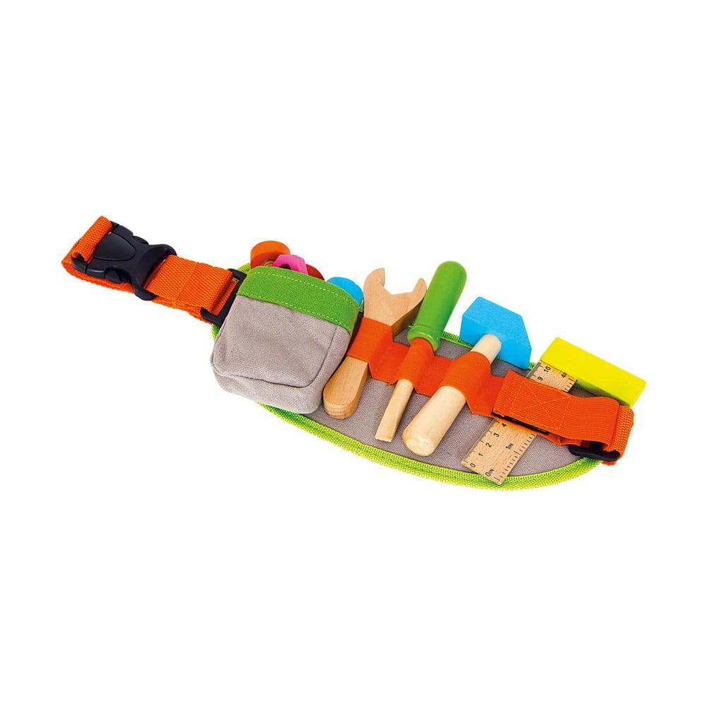 Set dětského dřevěného nářadí s opaskem Legler Tools