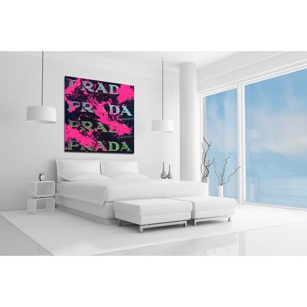 Obraz Beautiful Vandal Black, 91x91 cm