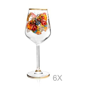 Sada 6 sklenic Mezzo Pandaren, 320 ml