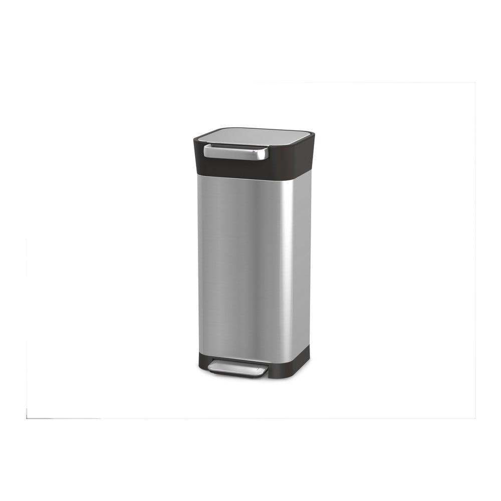 Nerezový odpadkový koš Joseph Joseph Intelligent Waste, 20 l