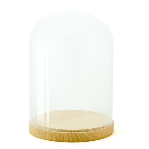 Skleněná vitrínka Wireworks Pleasure Dome Beech, Ø 23 cm