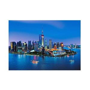 Osmidílná fototapeta Shangai, 366 x 254 cm