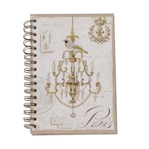 Zápisník Paris Chandelier