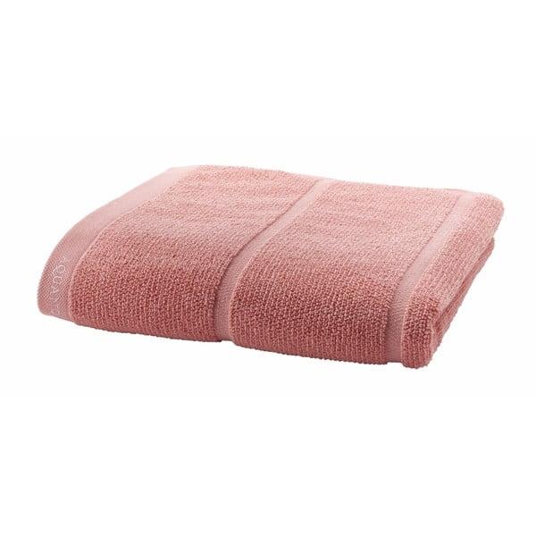 Pudrově růžový ručník Aquanova Adagio, 70x130cm