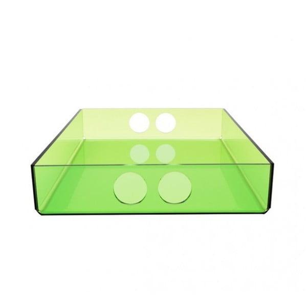 Podnos Tray Green, 22x31 cm