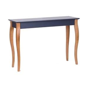 Grafitově šedý konzolový stolek Ragaba Console, 105 cm