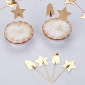 Set 20 scobitori decorative Neviti Dazzling Christmas