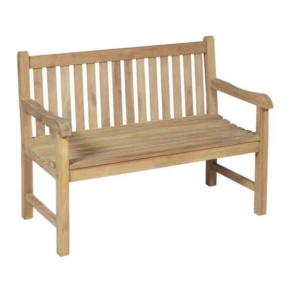 Ogrodowa ławka 2-osobowa z drewna tekowego ADDU Solo