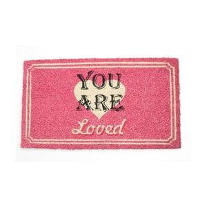 Rohožka You Are Loved, 40x70 cm