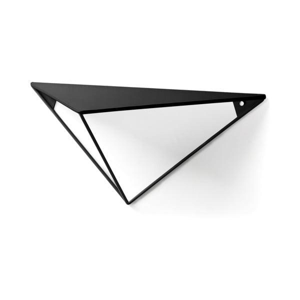 Černá police La Forma, výška 20 cm