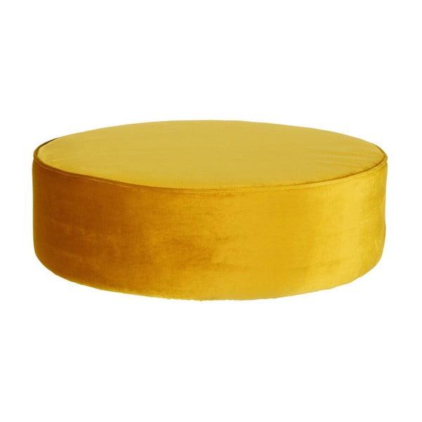 Mustársárga puff - WOOOD