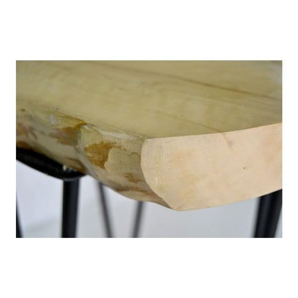 Stolička Square Wooden